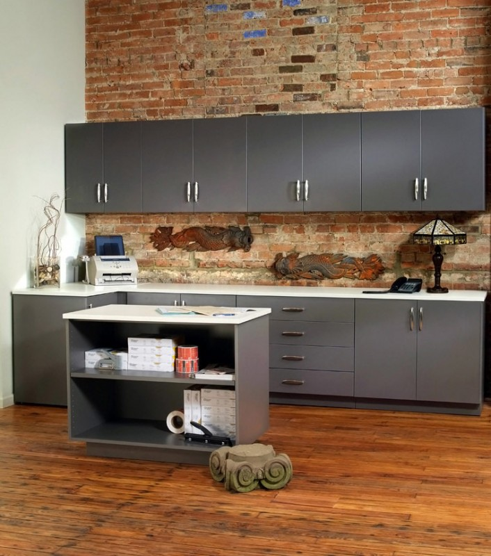 Commercial Modular Laminate Cabinets & Casework