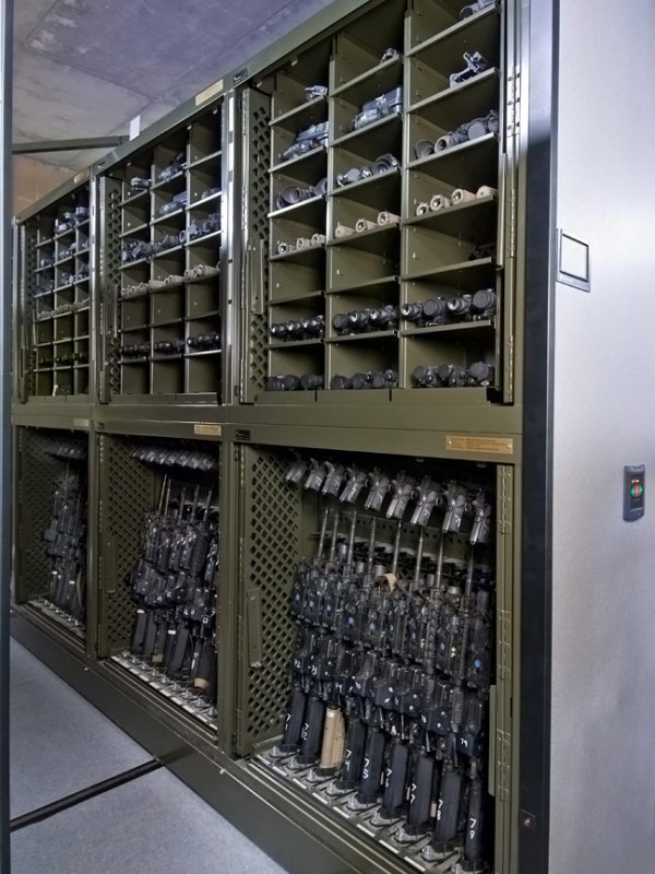 Military Universal Weapons Rack